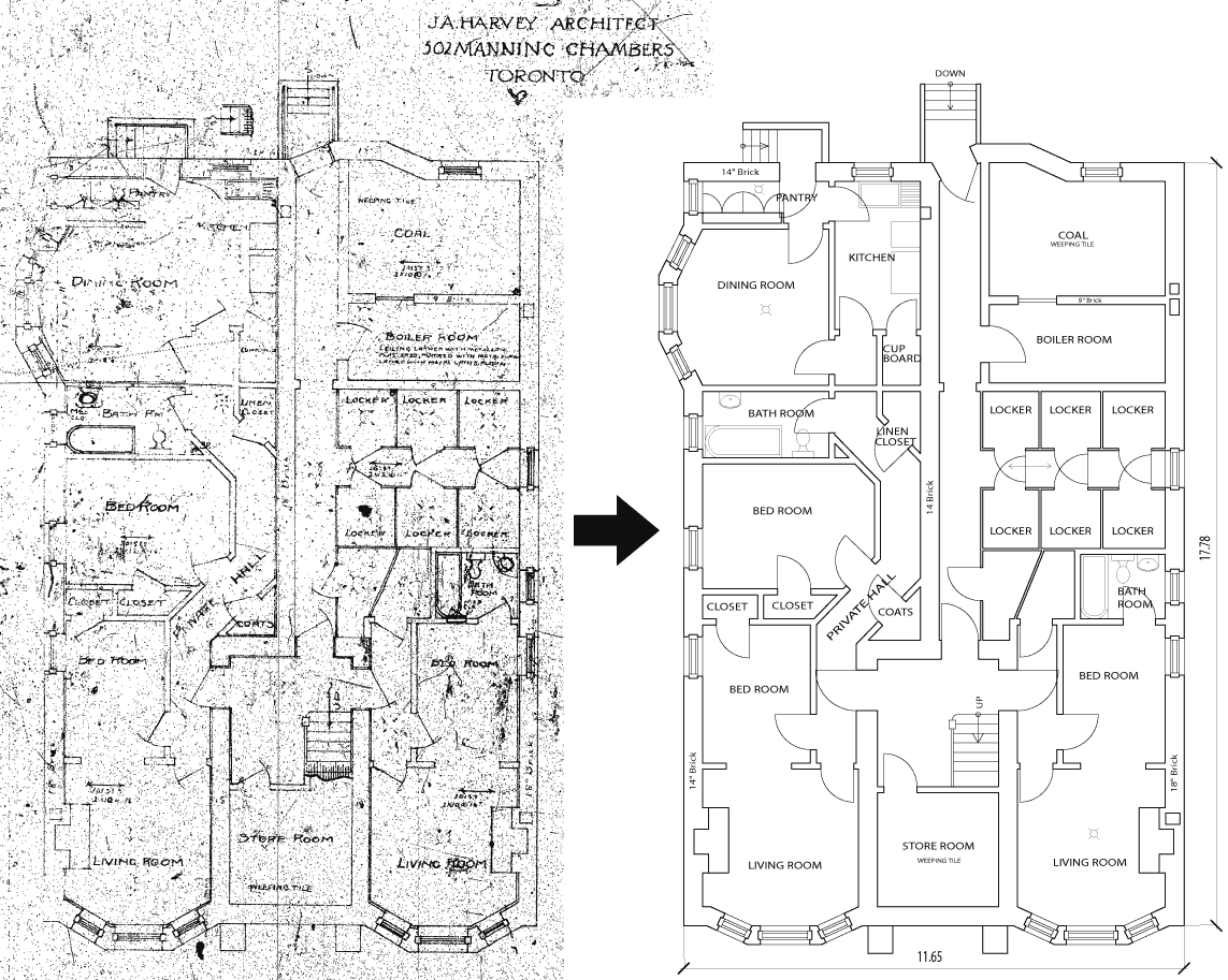 AutoCAD Drawing Floor Plans